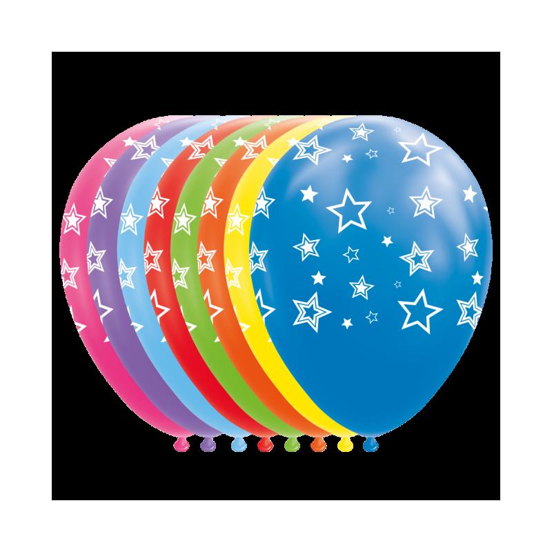 """Stjärnballonger 12 """""""