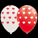 "Hjärta ballonger 12 "" Ballonger med tryck"