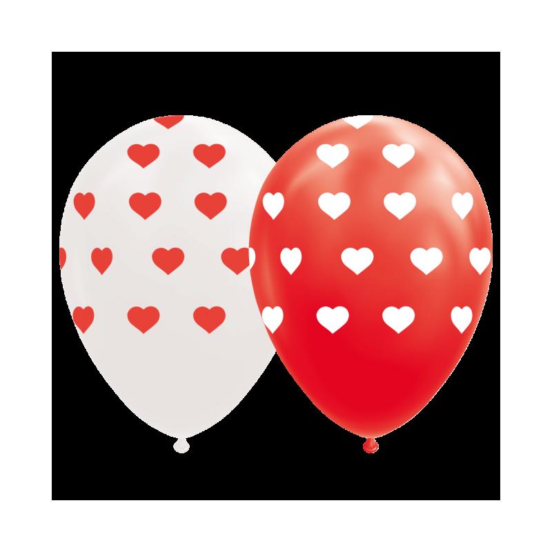 """Hjärta ballonger 12 """""""