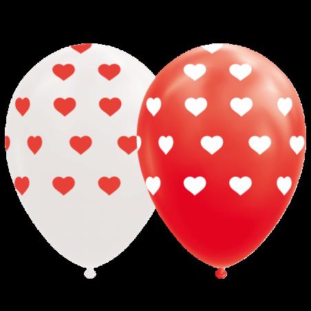 """Hjärta ballonger 12 """" - 775"""
