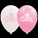 """Flickballonger 12 """" Ballonger med tryck"""