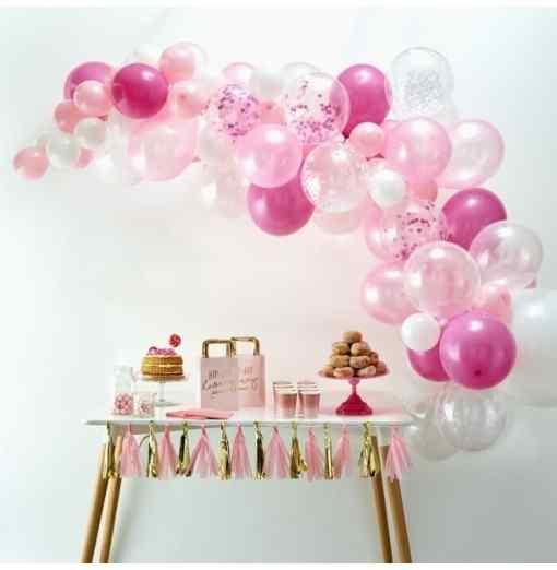 Pink Ballongbåge Ballongbågar