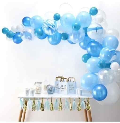 Blå Ballongbåge Ballongbågar