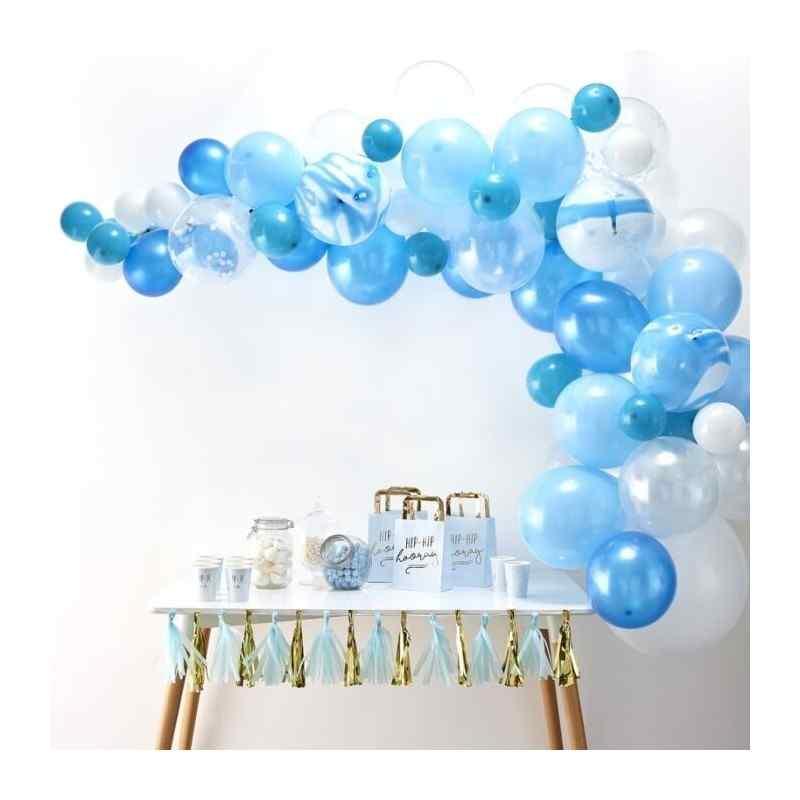 Blå Ballongbågar