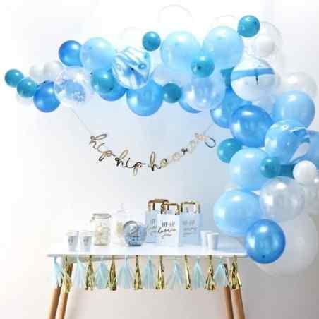 Blå Ballongbågar - 862