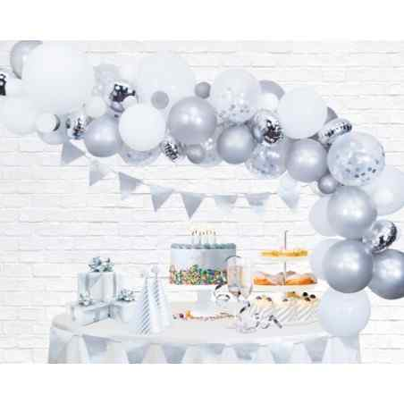 Silver Ballongbåge - 879