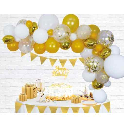 Guld Ballongbåge Ballongbågar