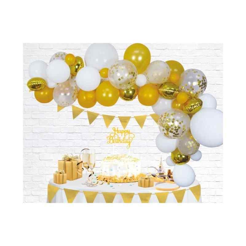 Guld Ballongbåge