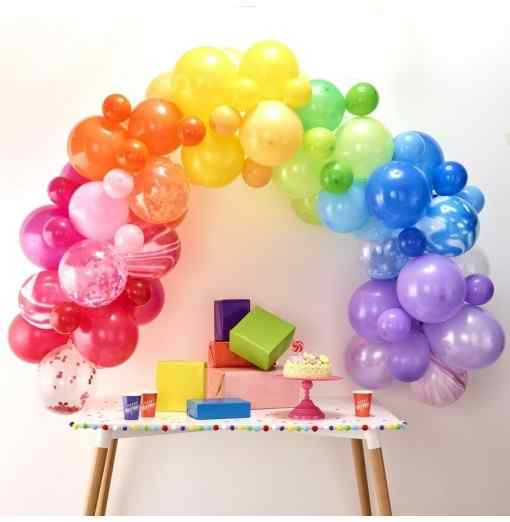 Regnbue Ballonbue Ballongbågar