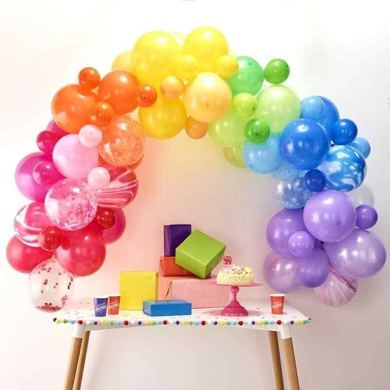 Balloon Arches -Balloon Arch - Rainbow