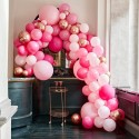 Stor Luksus Ballonbue - Pink Ballongbågar