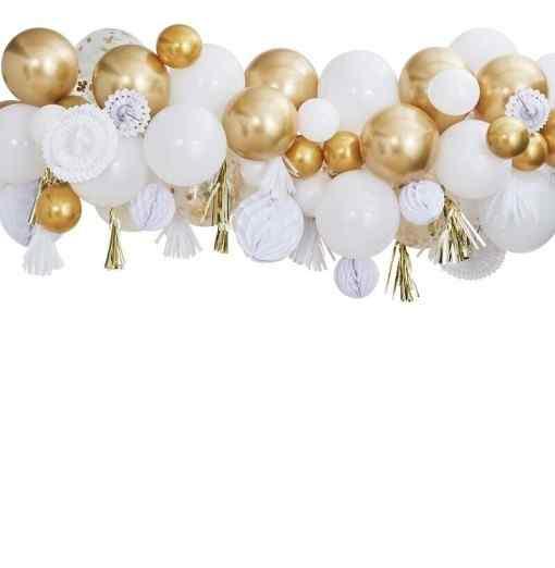Ballonbue - Guld Ballongbågar