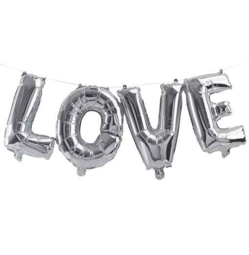 """""""Love"""" - Bogstaver - Sølv Kärlek"""