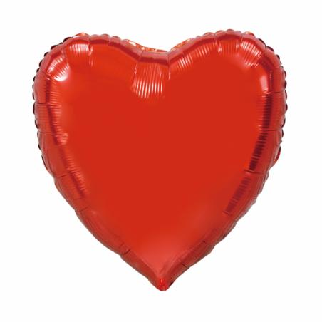 Giant Heart folie ballong Röd 92 cm - 98